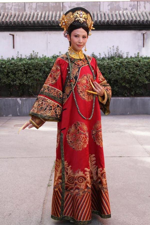 古代妃子服饰花纹