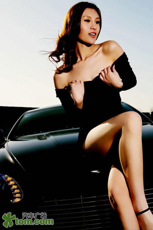 性感美女的诱惑 情陷英国豪车 汽车频道
