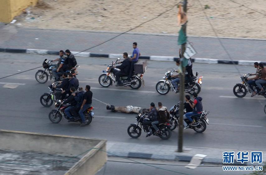 以色列屠城加沙真假_以色列轰炸加沙地区示意图