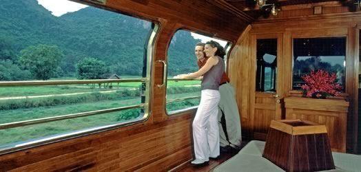 全球最豪华火车 东方快车巴黎到威尼斯1200英