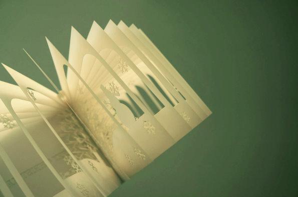 书立体艺术图片_【引用】【纸艺】英国Sublackwell的撕书艺术