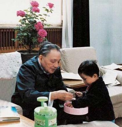 揭秘邓小平晚年生活照(组图)