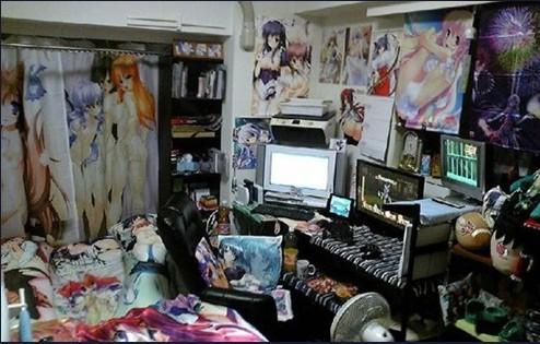 日本/日本宅男住房揭秘 动漫女优让人脸红心跳
