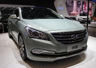北京现代名图亮相南京车展