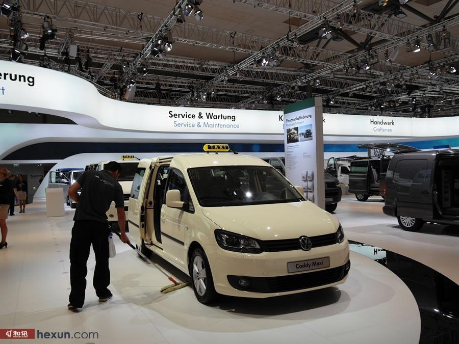2014德國漢諾威國際車展大眾展廳